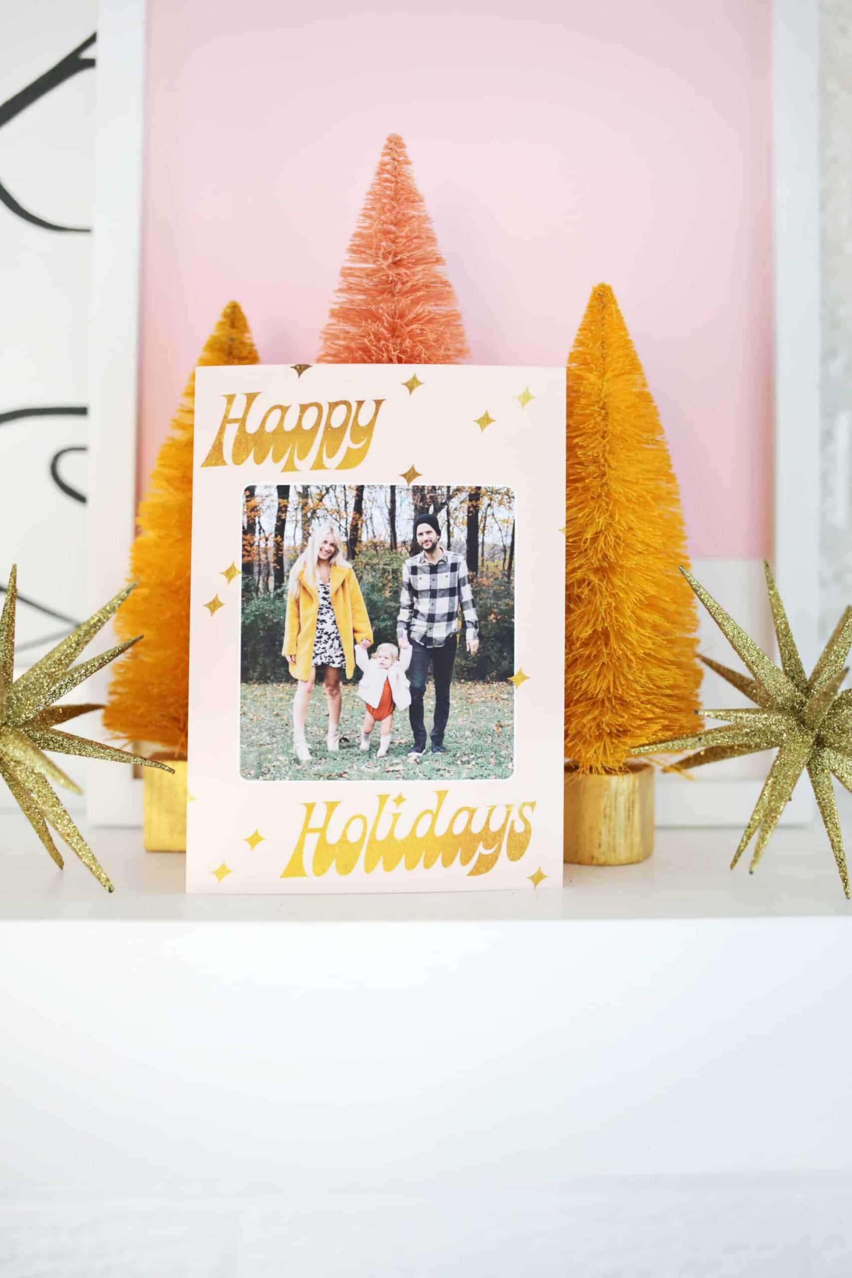 Print Your Own Holiday Cards (Free Template Included!) – A Inside Print Your Own Christmas Cards Templates