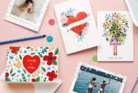 Print Your Own Holiday Cards – Here's How!   Better Housekeeper pertaining to Print Your Own Christmas Cards Templates
