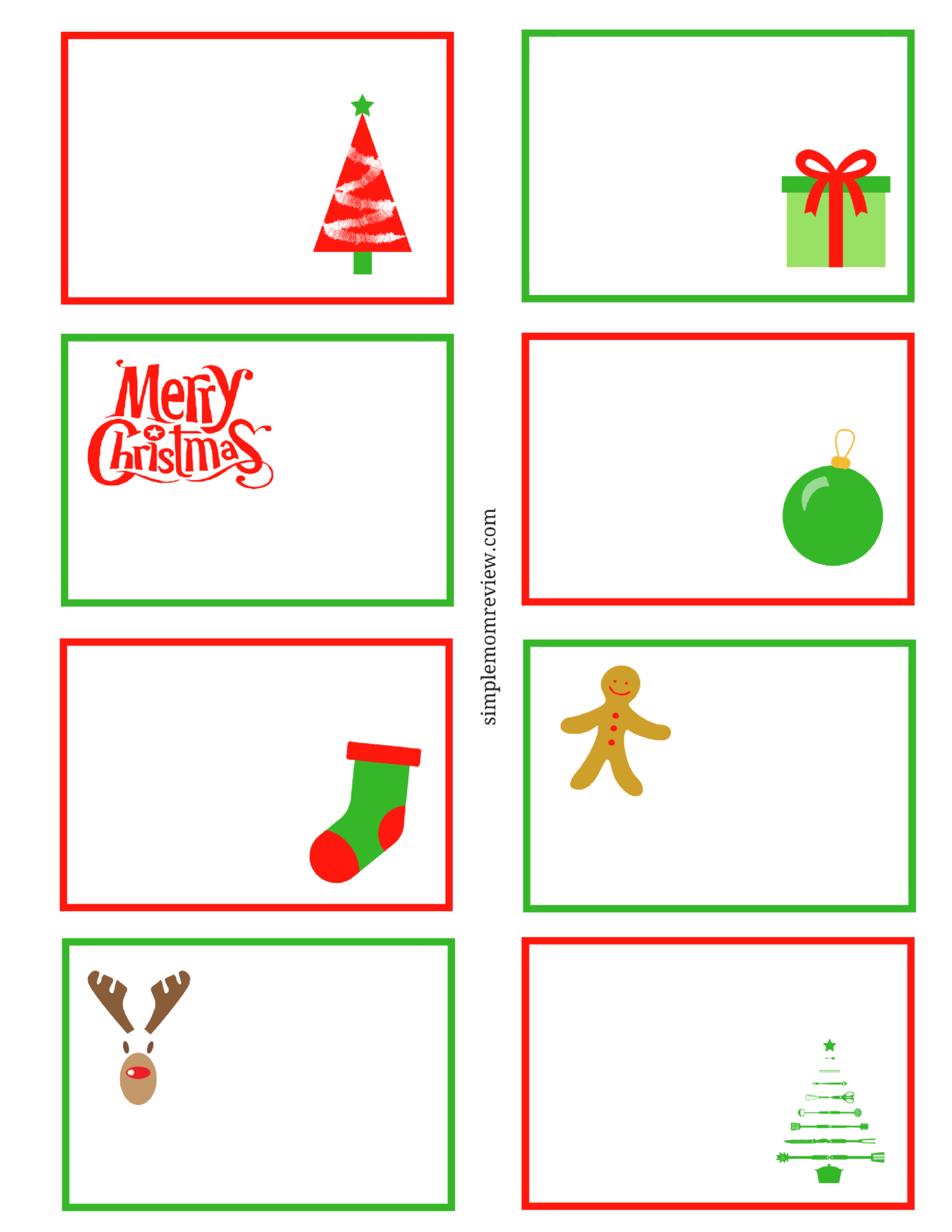 Printable Christmas Note Cards - Zohre.horizonconsulting.co Regarding Christmas Note Card Templates
