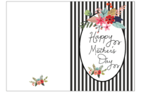 Printable Mother S Day Card For – Mahre.horizonconsulting.co with regard to Mothers Day Card Templates
