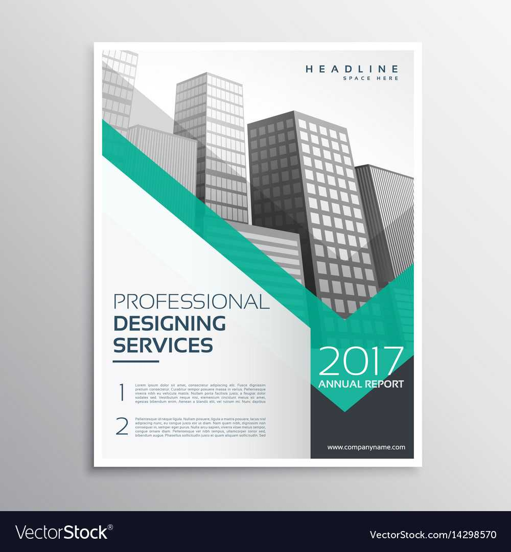 Professional Brochure Or Leaflet Template Design With Professional Brochure Design Templates