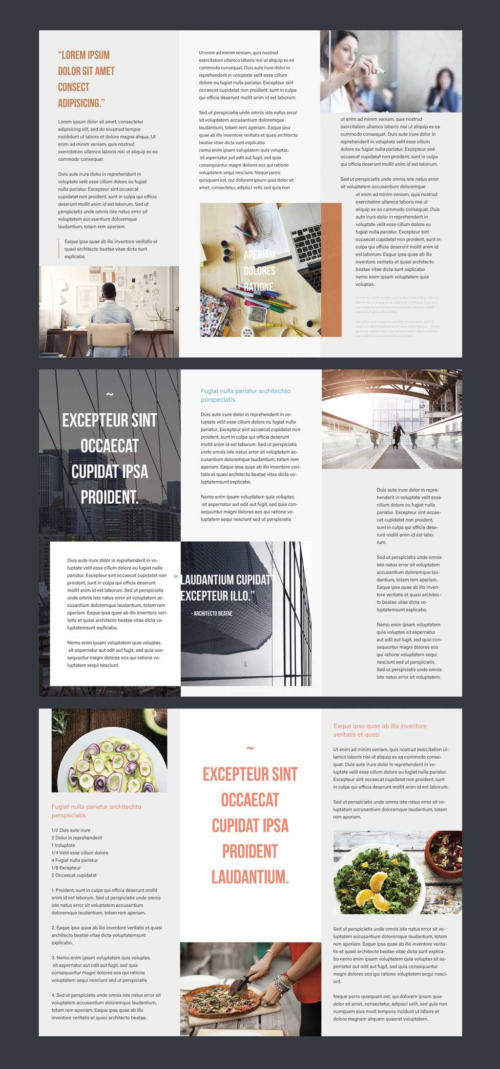 Professional Brochure Templates | Adobe Blog Pertaining To Adobe Illustrator Brochure Templates Free Download