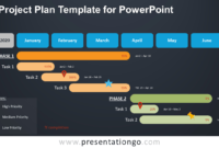 Project Plan Template For Powerpoint – Presentationgo in Project Schedule Template Powerpoint