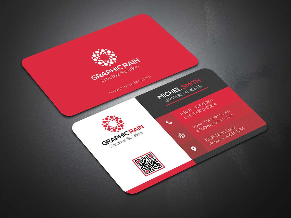 Psd Business Card Template On Behance Regarding Psd Visiting Card Templates