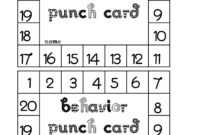 Punch Card Template Free ] – Free Printable Punch Card for Free Printable Punch Card Template