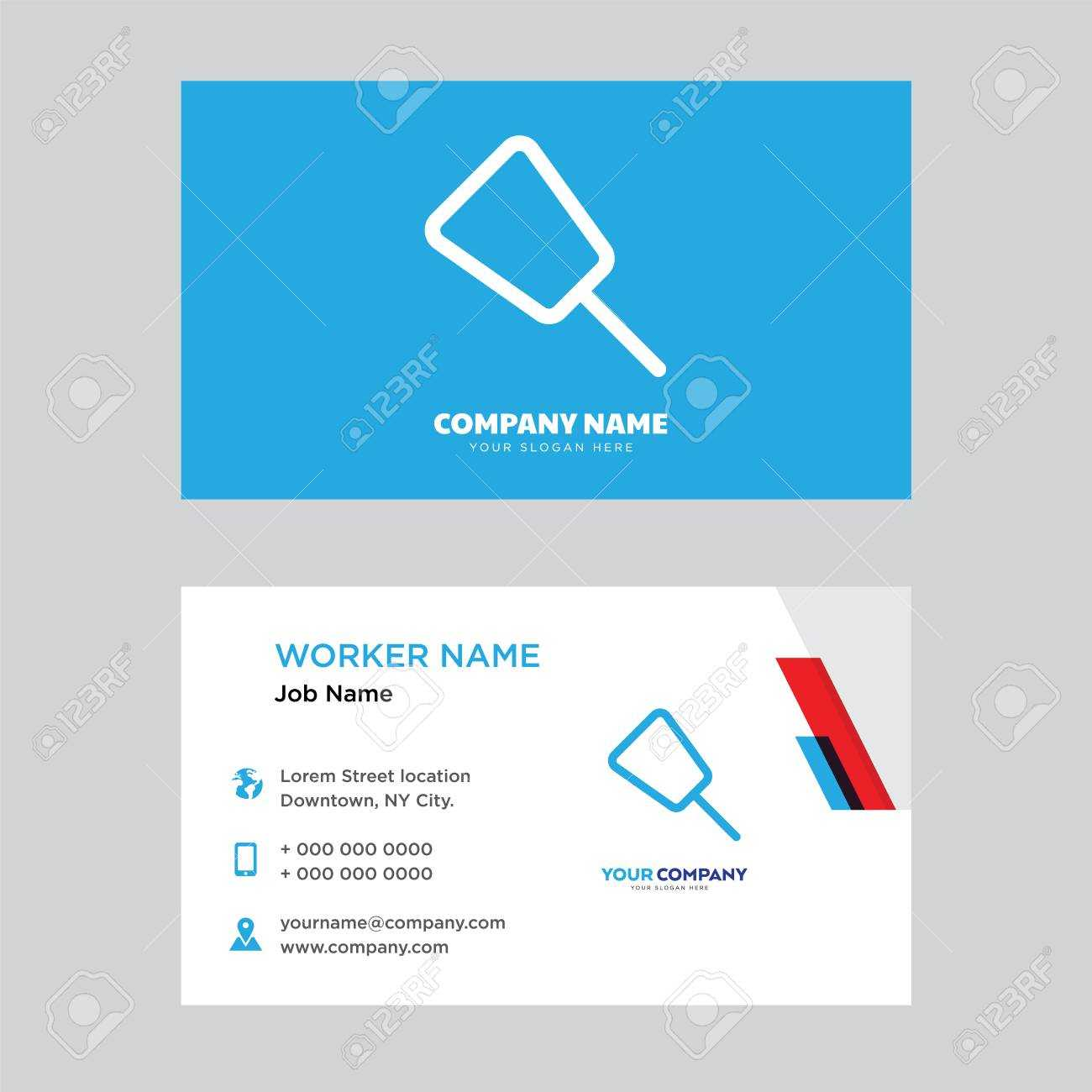 Push Pin Business Card Design Template, Visiting For Your Company,.. For Push Card Template