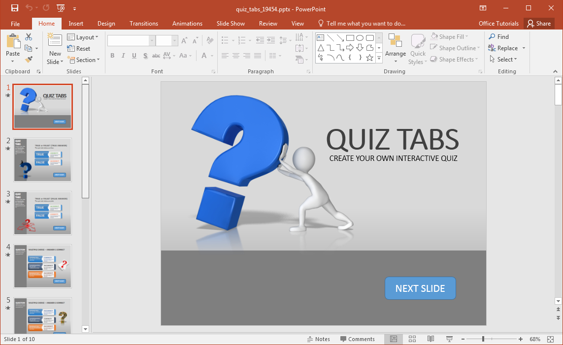 Quiz Powerpoint Template - Mahre.horizonconsulting.co Throughout Trivia Powerpoint Template
