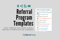 Real Life Referral Program Templates That You Can Steal for Referral Card Template Free