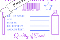 Refreshing Tooth Fairy Printable Letter   Dora's Website throughout Tooth Fairy Certificate Template Free