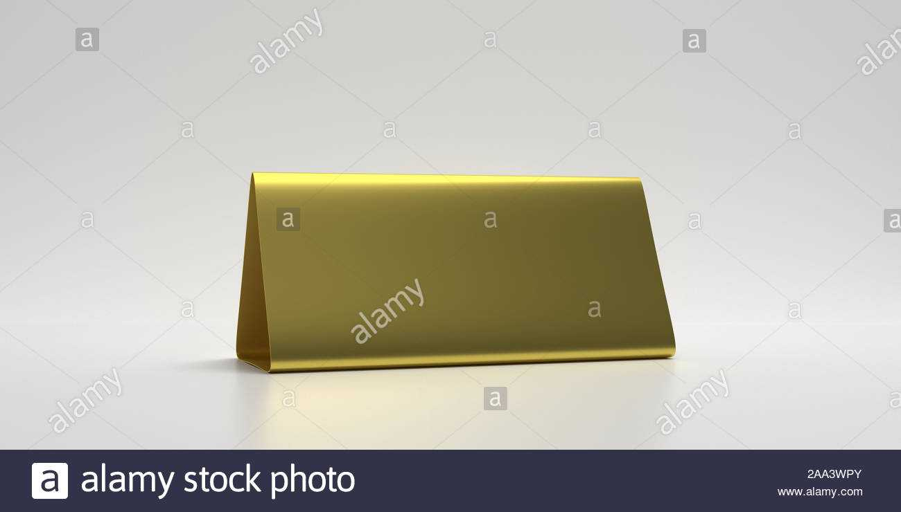 Reservation Concept. Table Tent Blank, Reserved Card Sign For Table Reservation Card Template