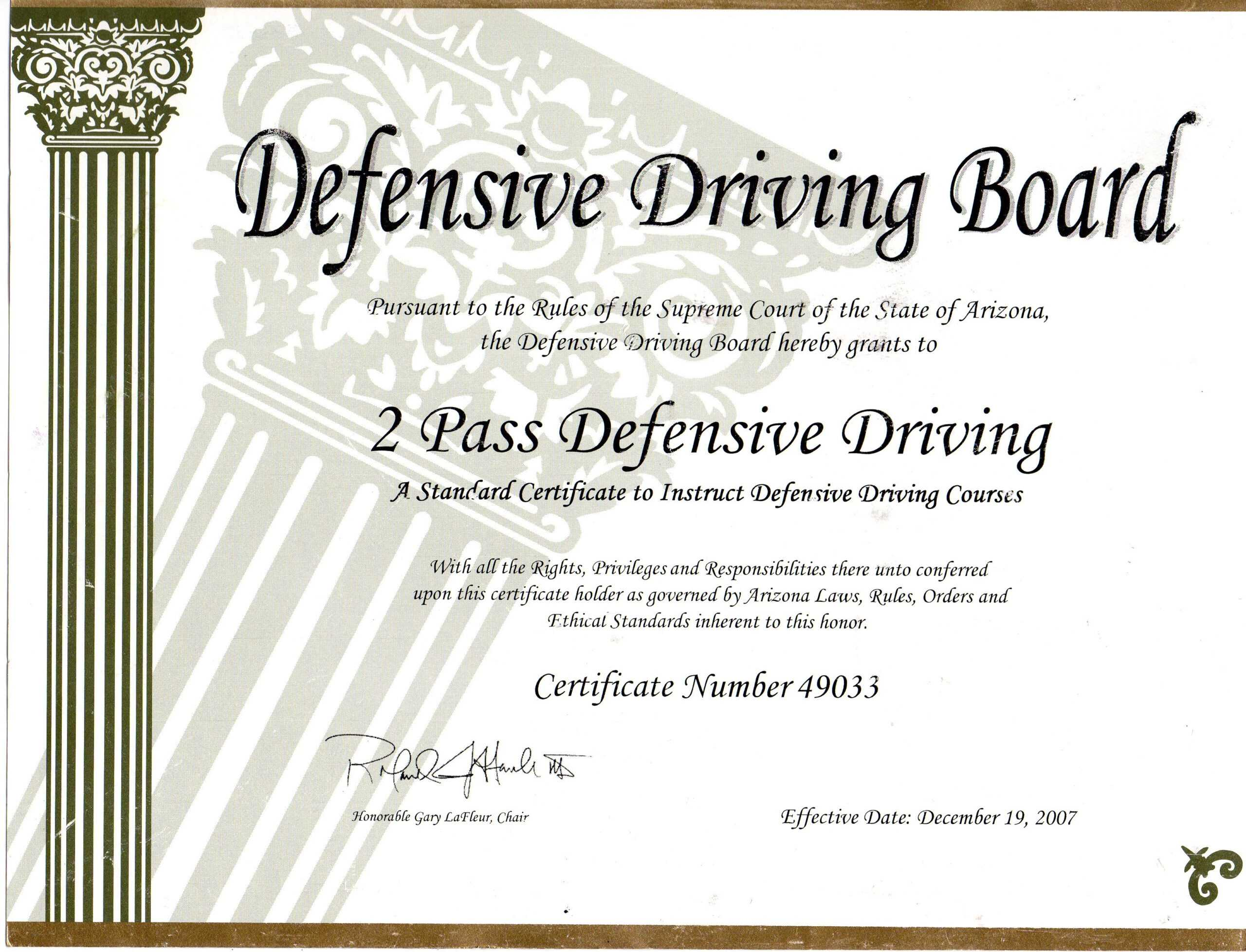 Safe Driving Certificate Template ] - Some Appreciation Within Safe Driving Certificate Template