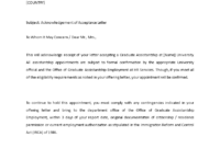 Sample Acknowledgement Of Acceptance Letter | Templates pertaining to Acceptance Card Template