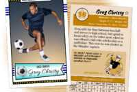 Soccer Ball Card – Zohre.horizonconsulting.co pertaining to Soccer Thank You Card Template