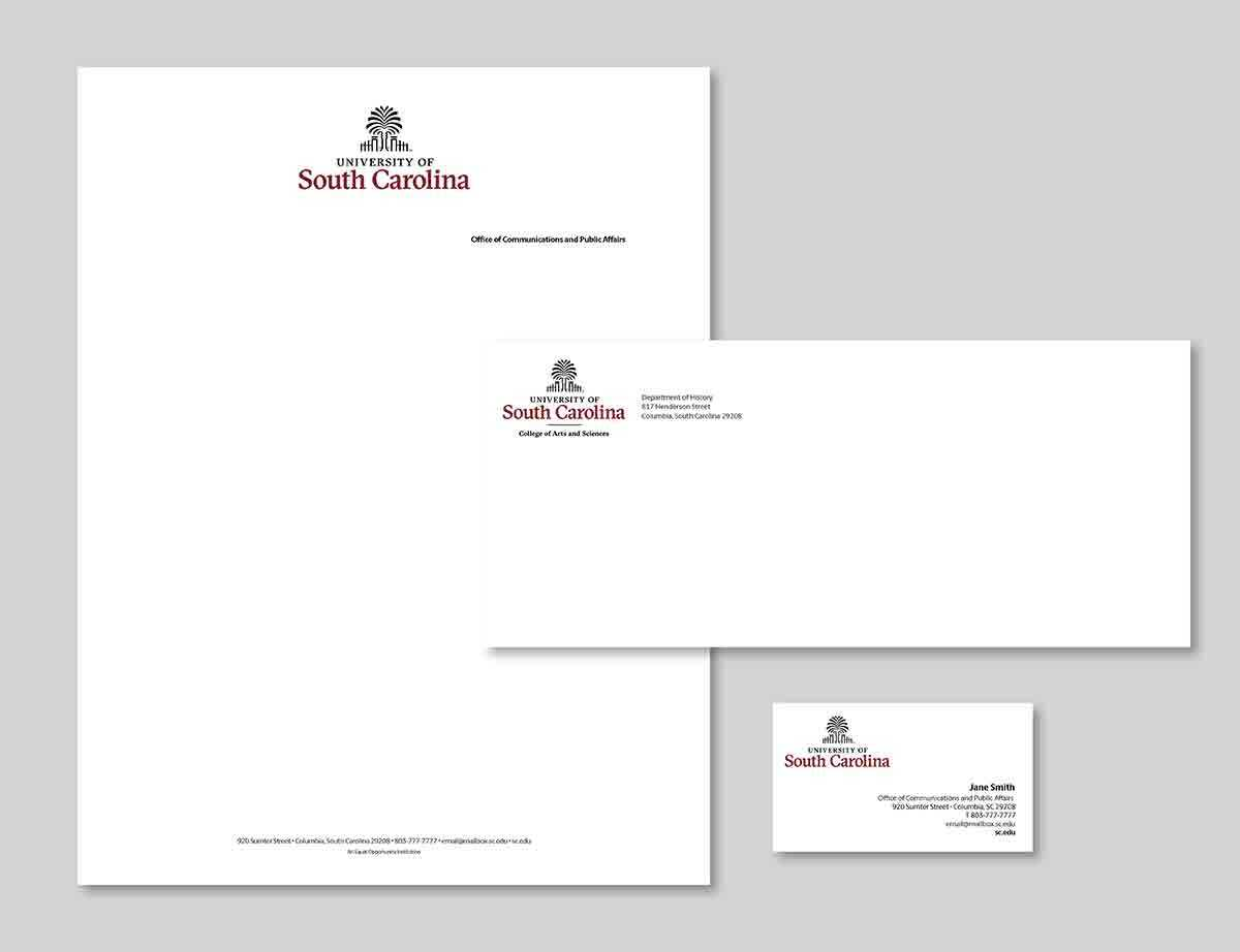 Stationery And Supplies – Communications And Public Affairs With Regard To Graduate Student Business Cards Template