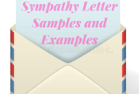 Sympathy Letter Samples And Examples – Sympathy Card Messages with Sorry For Your Loss Card Template
