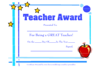 Teacher Appreciation Certificate Free Printable – Mahre within Free Vbs Certificate Templates