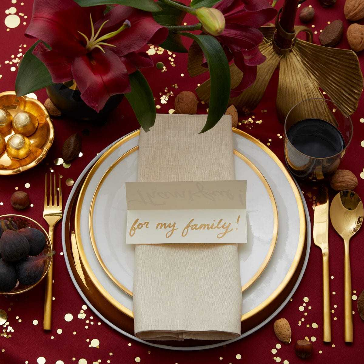 Thankful Table Card | Darcy Miller Designs Regarding Place Card Setting Template