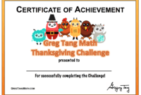 Thanksgiving Certificates | Certificate Template Downloads throughout Track And Field Certificate Templates Free