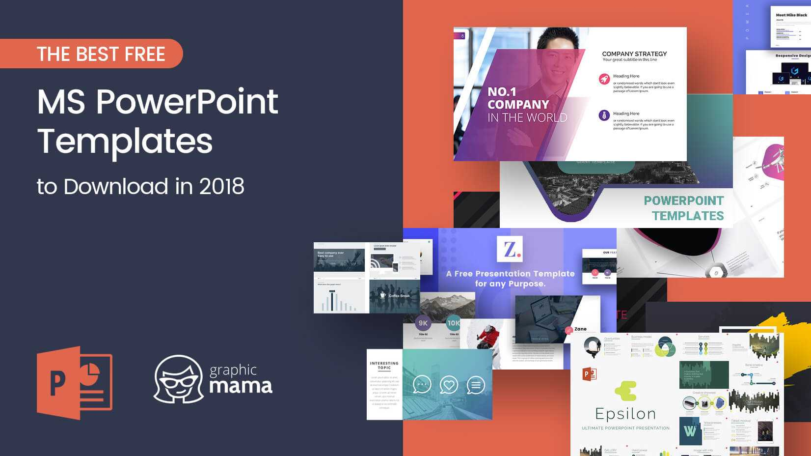 The Best Free Powerpoint Templates To Download In 2018 For Powerpoint Slides Design Templates For Free
