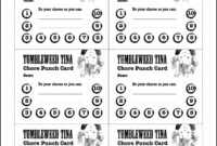 The Best Free Printable Punch Cards | Chapman Blog in Free Printable Punch Card Template