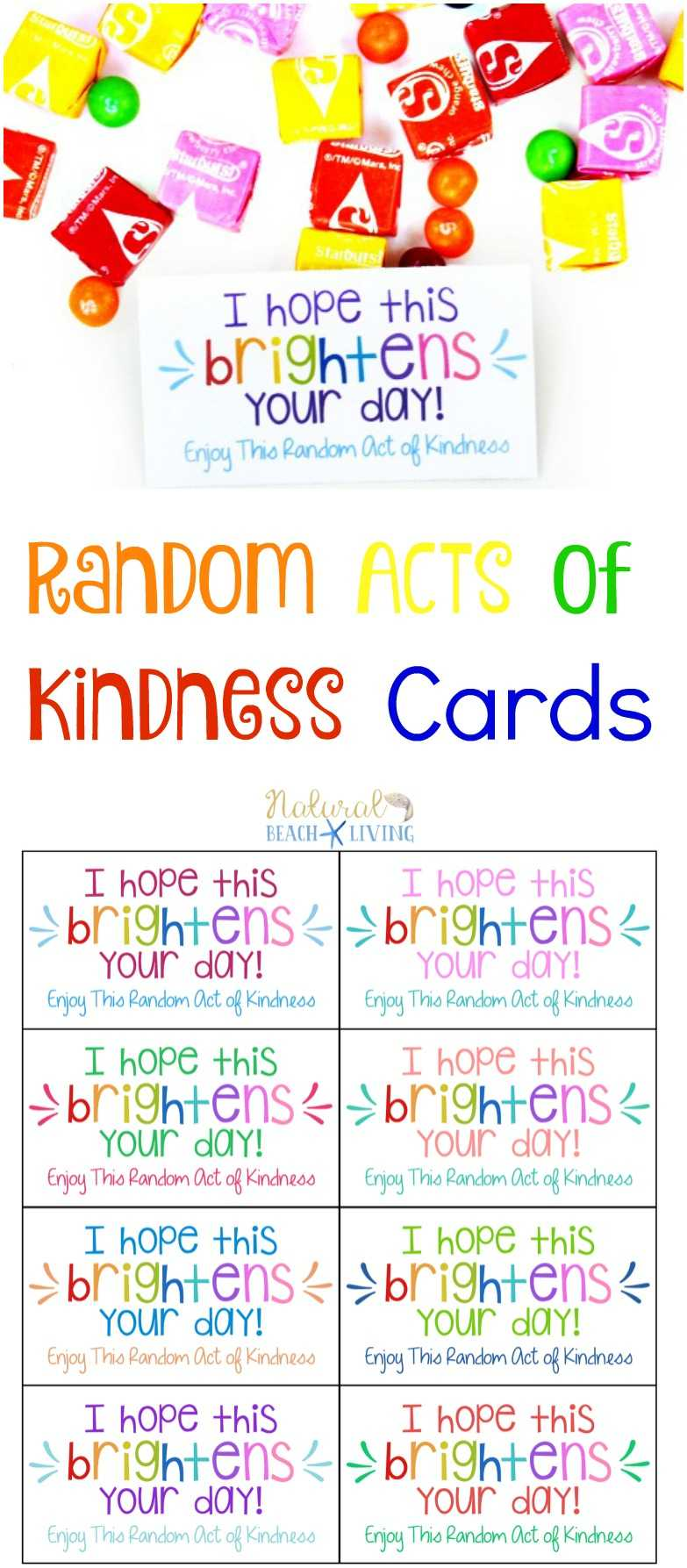 The Best Random Acts Of Kindness Printable Cards Free Inside Random Acts Of Kindness Cards Templates