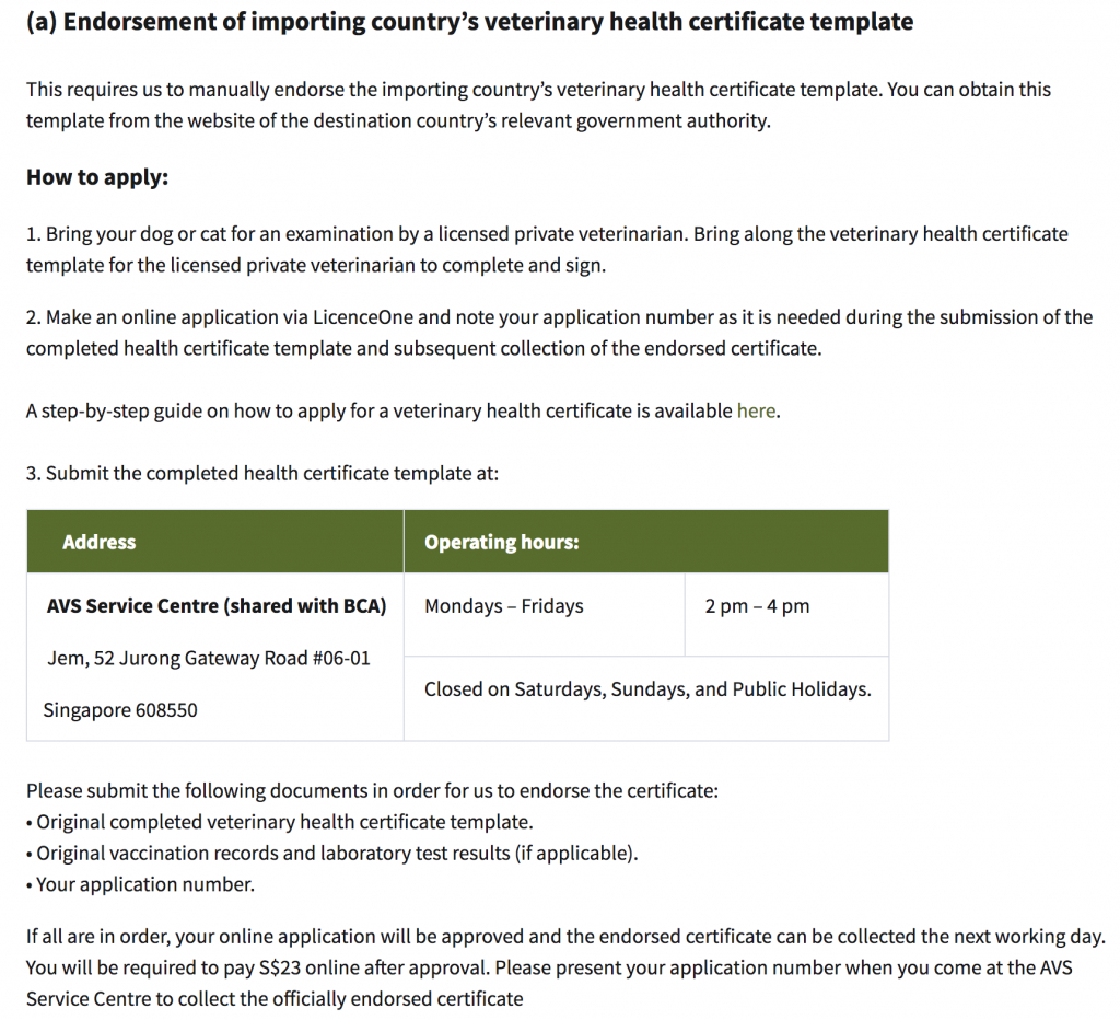 The Ultimate Guide To Importing Your Dog Into Japan Throughout Veterinary Health Certificate Template
