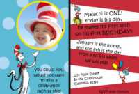 Tips Easy To Create Dr Seuss Birthday Invitations Designs for Dr Seuss Birthday Card Template