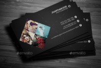 Top 26 Free Business Card Psd Mockup Templates In 2019 inside Photoshop Name Card Template
