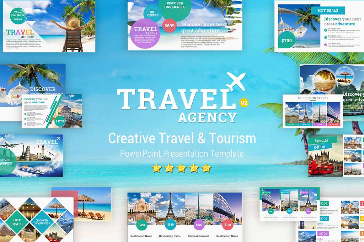 Travel And Tourism Powerpoint Presentation Template - Yekpix With Powerpoint Templates Tourism