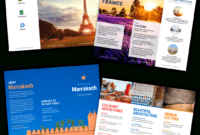 Travel Brochure Templates – Make A Travel Brochure – Venngage pertaining to Travel Guide Brochure Template