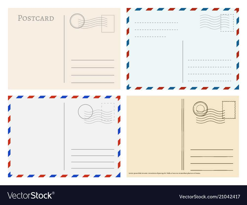 Travel Postcard Templates Greetings Post Cards Throughout Post Cards Template