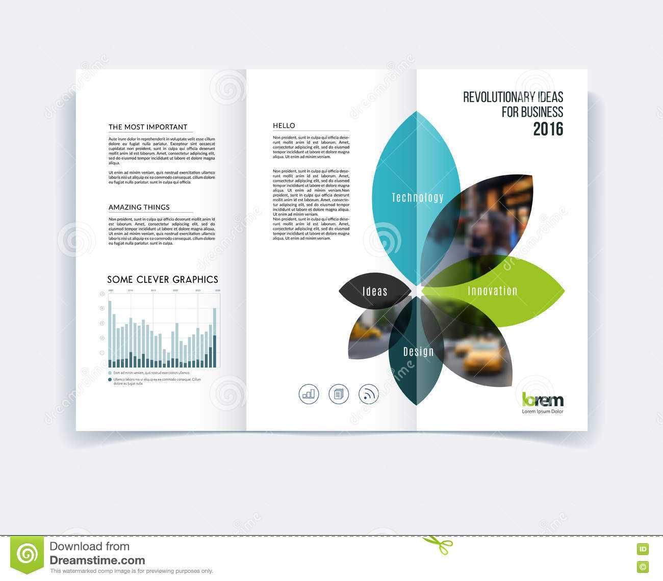 Tri Fold Brochure Template Layout, Cover Design, Flyer In A4 Intended For Engineering Brochure Templates