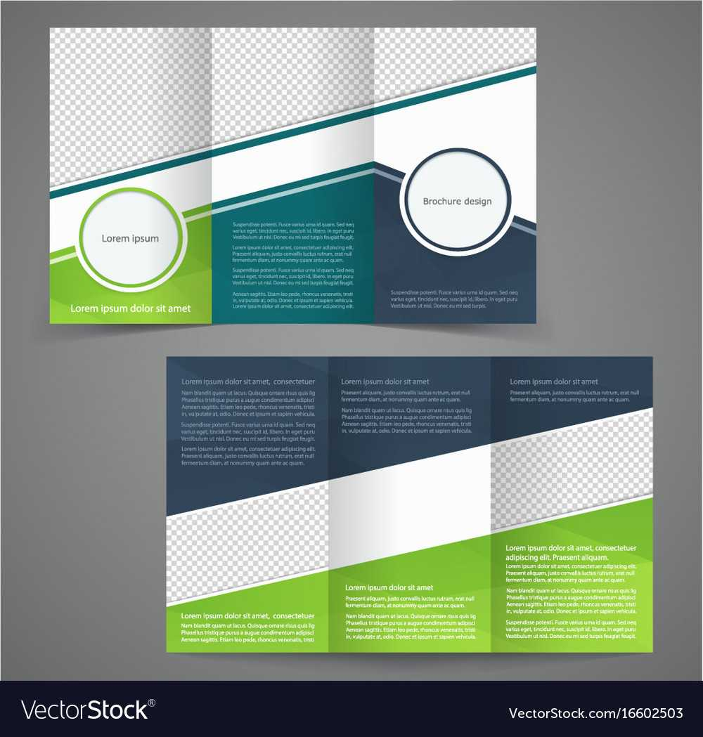 Tri Fold Business Brochure Template Two Sided In One Sided Brochure Template