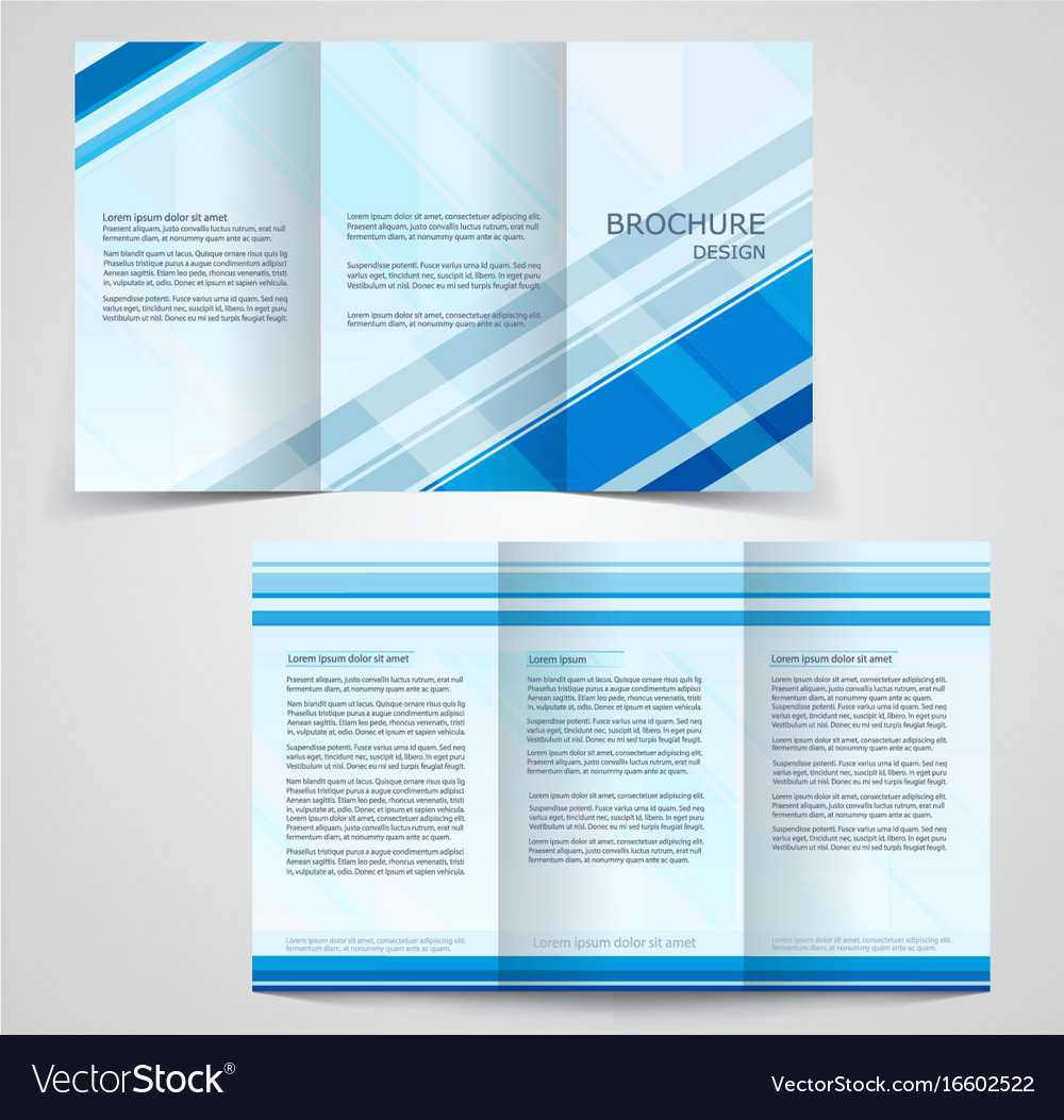 Tri Fold Business Brochure Template Two Sided With Regard To Free Tri Fold Business Brochure Templates