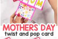 Twist And Pop Mother's Day Card – Easy Peasy And Fun pertaining to Twisting Hearts Pop Up Card Template
