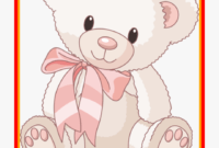 Unbelievable Teddy Bear Clip Art Clipart Of Big Png – Cute with Teddy Bear Pop Up Card Template Free