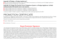 Upgrade To Ipedge Promotion Certificate | Templates At pertaining to Promotion Certificate Template