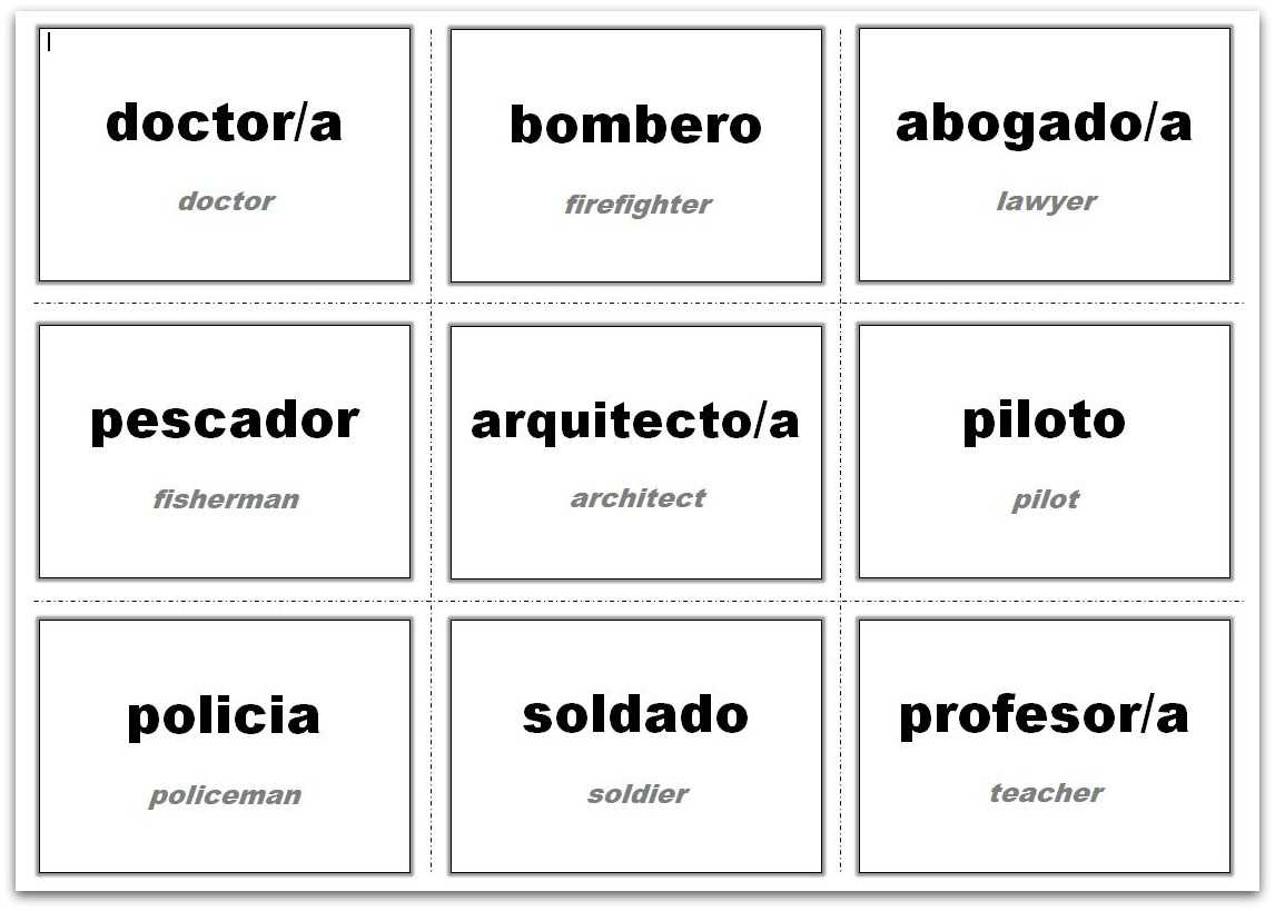 Vocabulary Flash Cards Using Ms Word With Cue Card Template Word