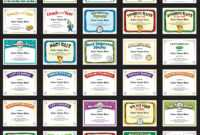 Volleyball Certificates – Free Award Templates within Free Printable Funny Certificate Templates