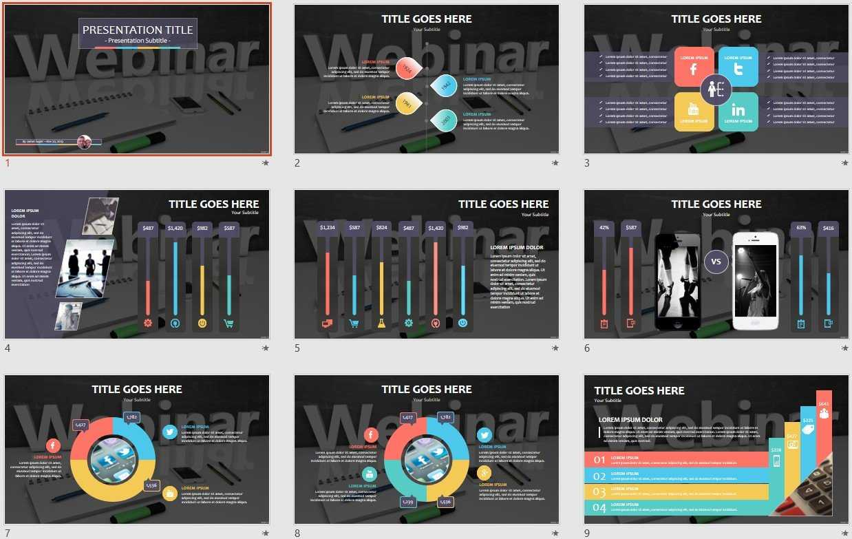 Webinar Powerpoint Template #109705 Regarding Webinar Powerpoint Templates