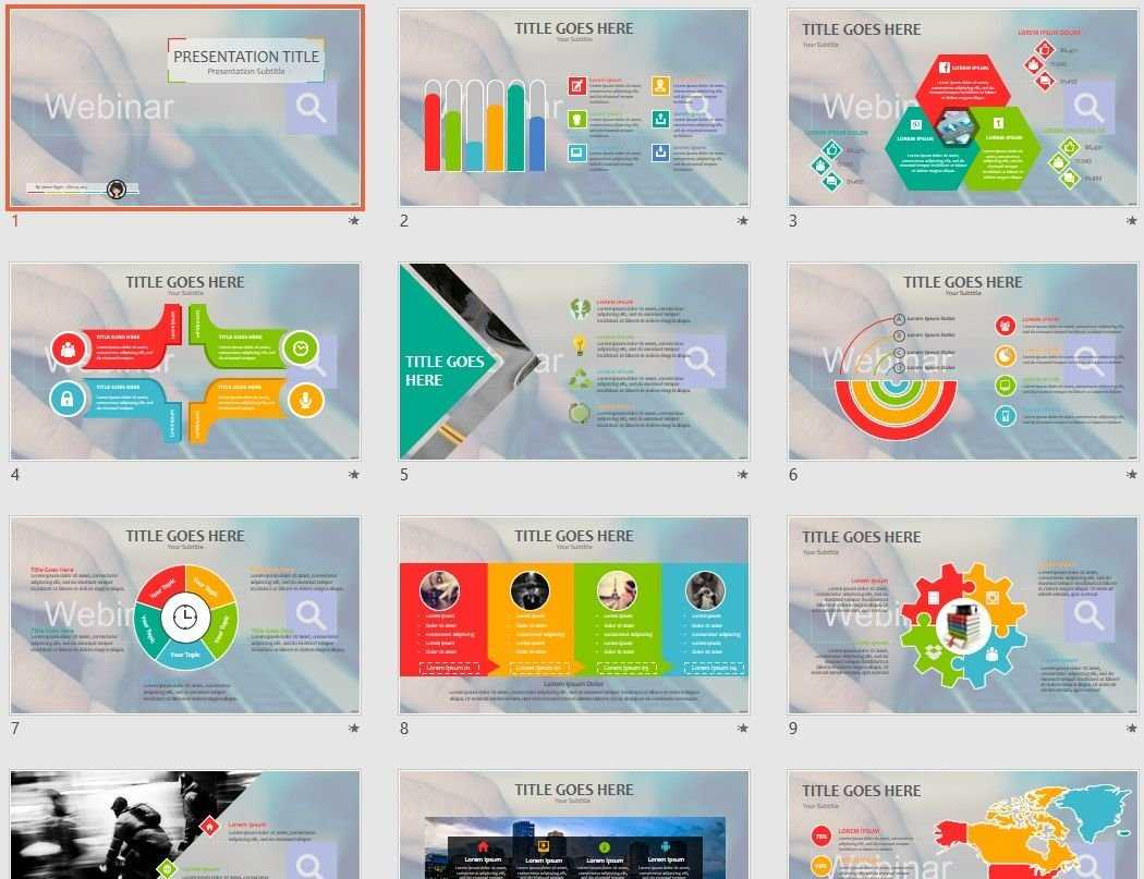 Webinar Powerpoint Template #73793 With Regard To Webinar Powerpoint Templates