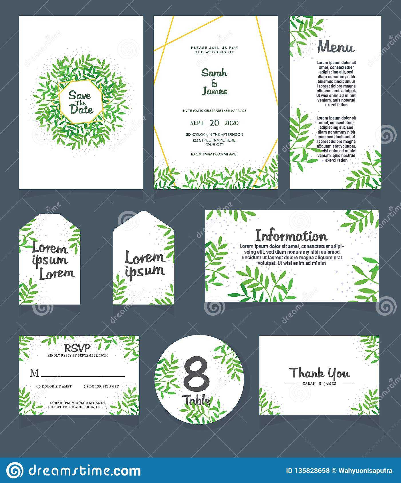 Wedding Invitation Card Template. Wedding Invitation, Thank Inside Table Place Card Template Free Download