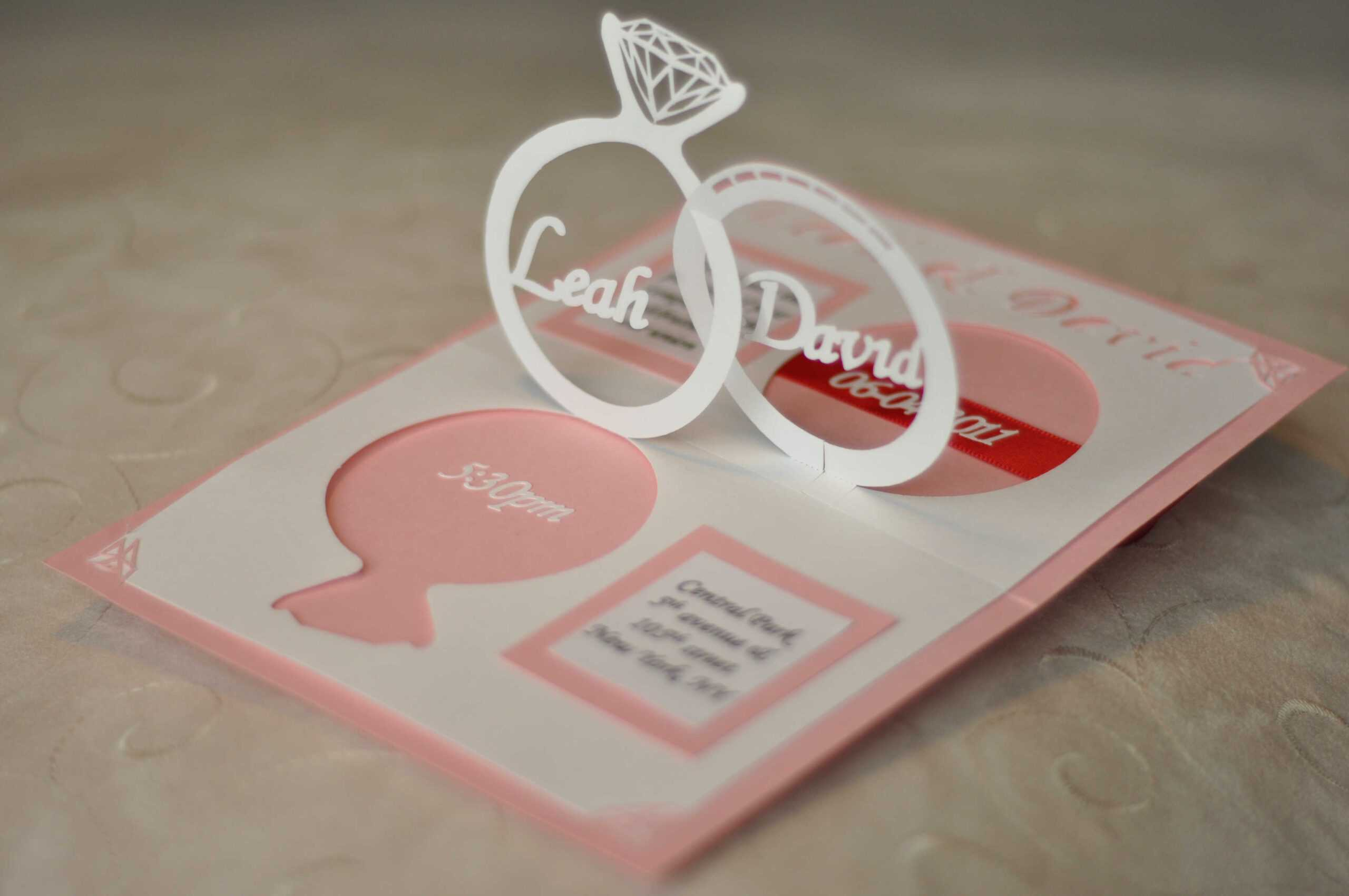 Wedding Invitation Pop Up Template | Sample Best Resume Pertaining To Pop Up Wedding Card Template Free