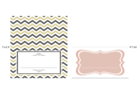 Wedding Place Card Template – Wikihow regarding A2 Card Template