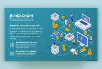 What Is The Blockchain & How Does It Work | Ppt Template throughout Where Are Powerpoint Templates Stored