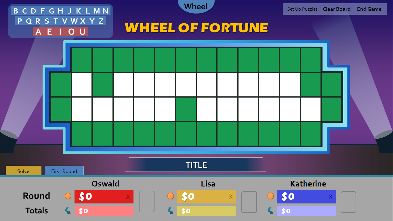 Wheel Of Fortune For Powerpoint – Gamestim With Regard To Wheel Of Fortune Powerpoint Game Show Templates