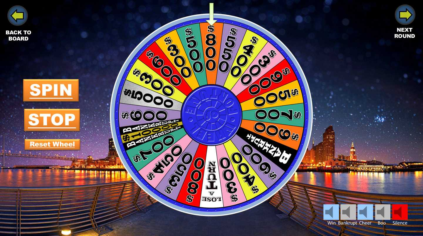 Wheel Of Fortune Powerpoint Game – Youth Downloadsyouth For Wheel Of Fortune Powerpoint Game Show Templates