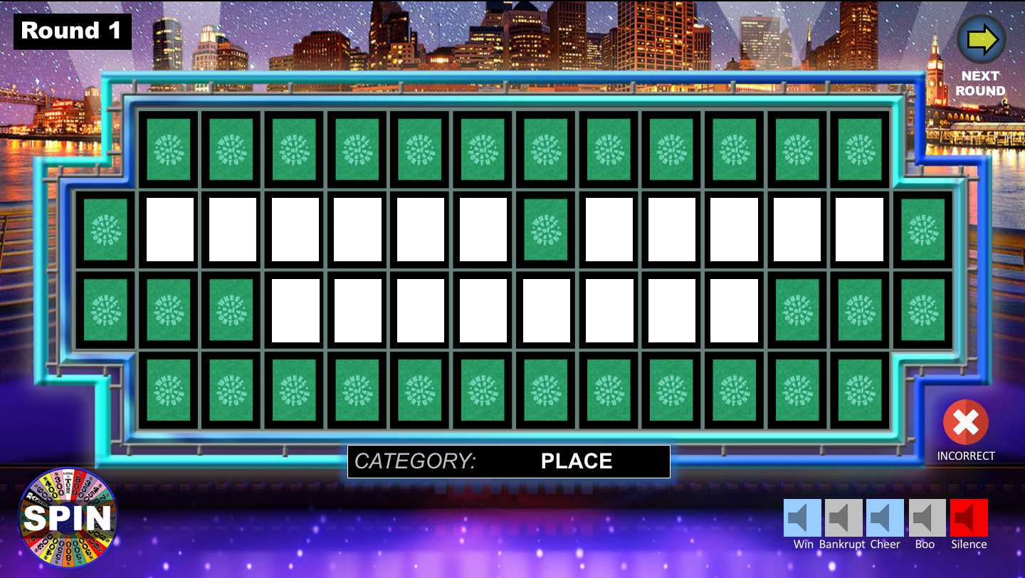Wheel Of Fortune Powerpoint Game - Youth Downloadsyouth Intended For Wheel Of Fortune Powerpoint Template