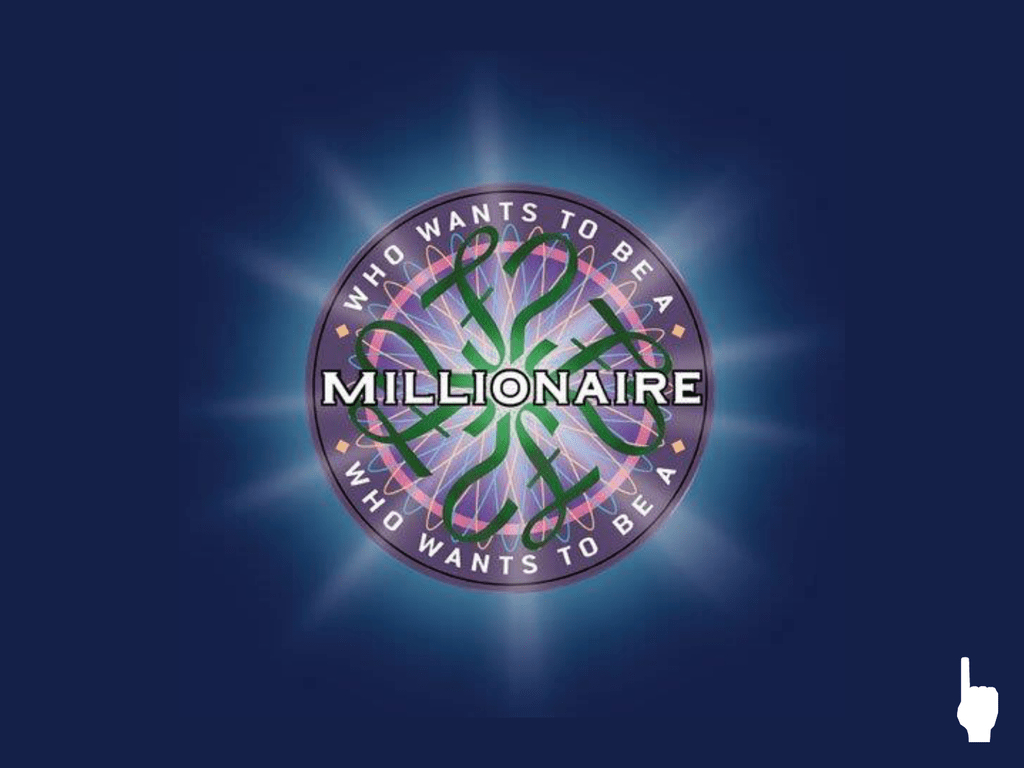 Who Wants To Be A Millionaire? Powerpoint Template Intended For Who Wants To Be A Millionaire Powerpoint Template