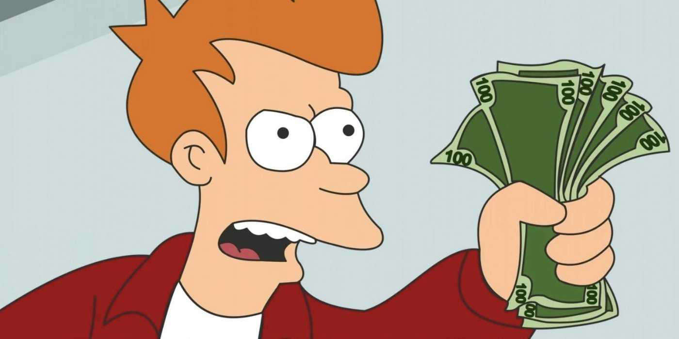 "You Can Own A Futurama ""shut Up And Take My Money!"" Credit Card Pertaining To Shut Up And Take My Money Card Template"